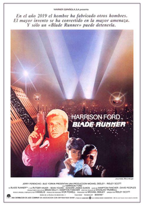 Cartel oficial en español de: Blade Runner
