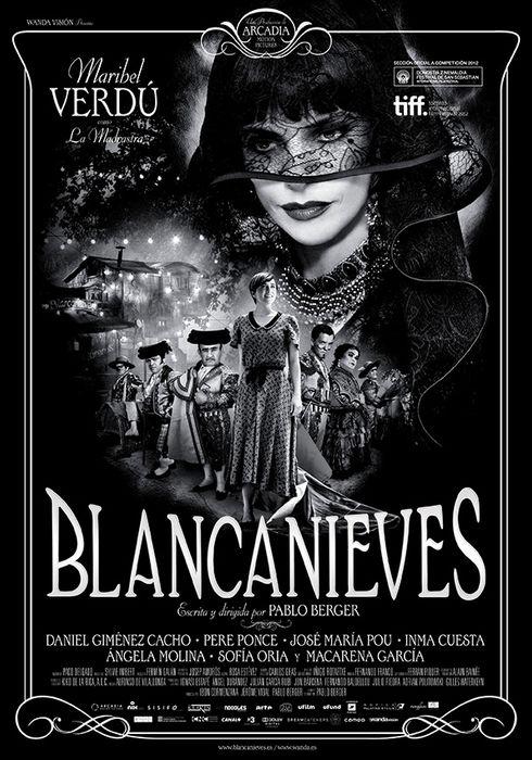 Cartel oficial en español de: Blancanieves