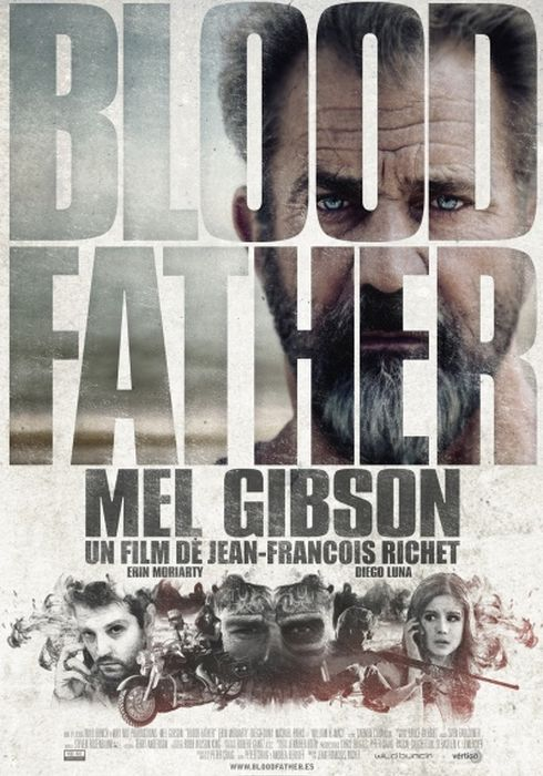 Cartel oficial en español de: Blood Father