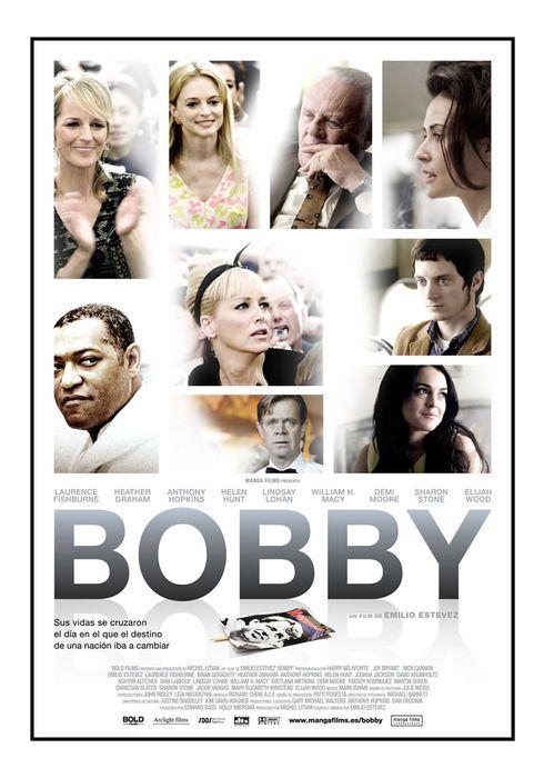 Cartel oficial en español de: Bobby