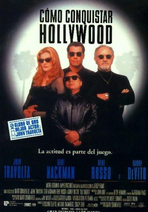 Cartel oficial en español de: Como conquistar Hollywood