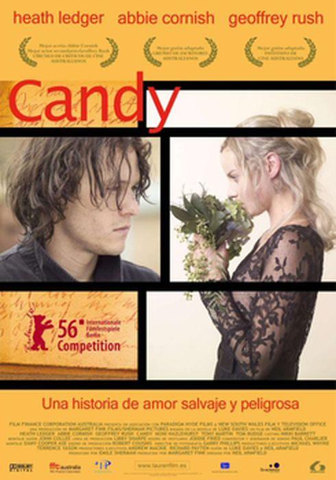 Cartel oficial en español de: Candy