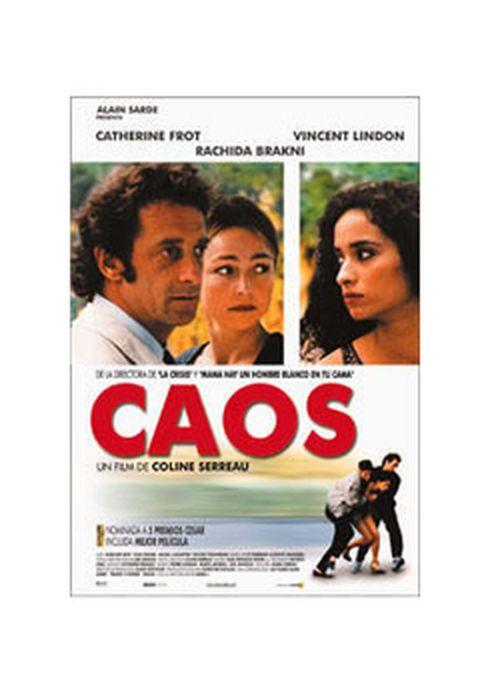 Cartel oficial en español de: Caos (2001)