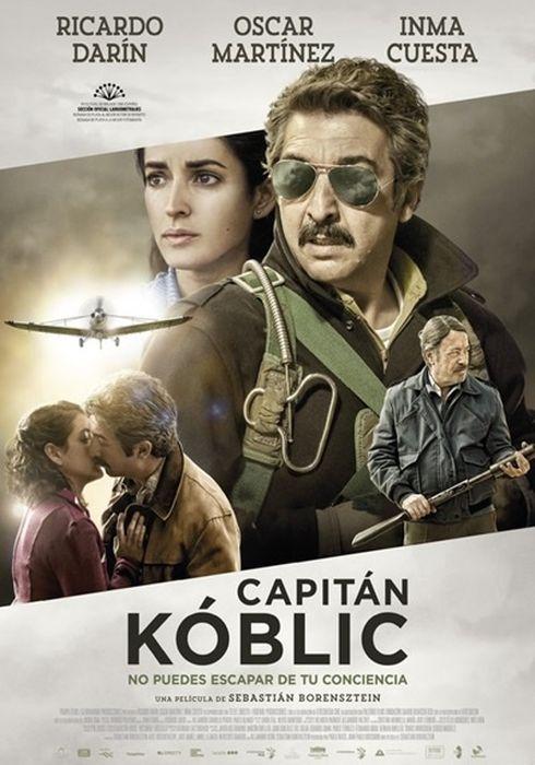 Cartel oficial en español de: Capitán Kóblic
