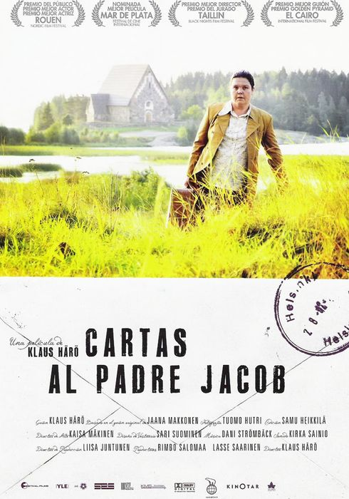 Cartel oficial en español de: Cartas al Padre Jacob