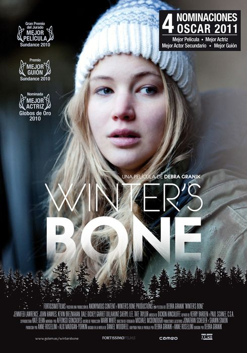 Cartel oficial en español de: Winter's Bone