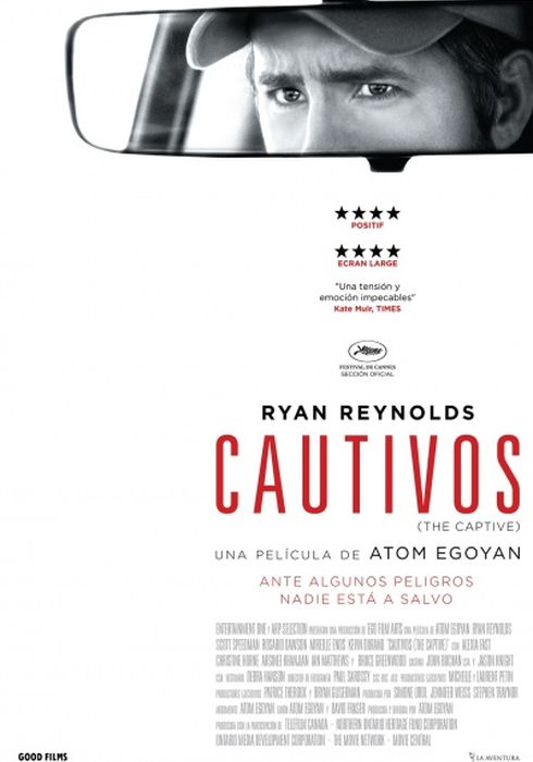 Cartel oficial en español de: Cautivos (The Captive)