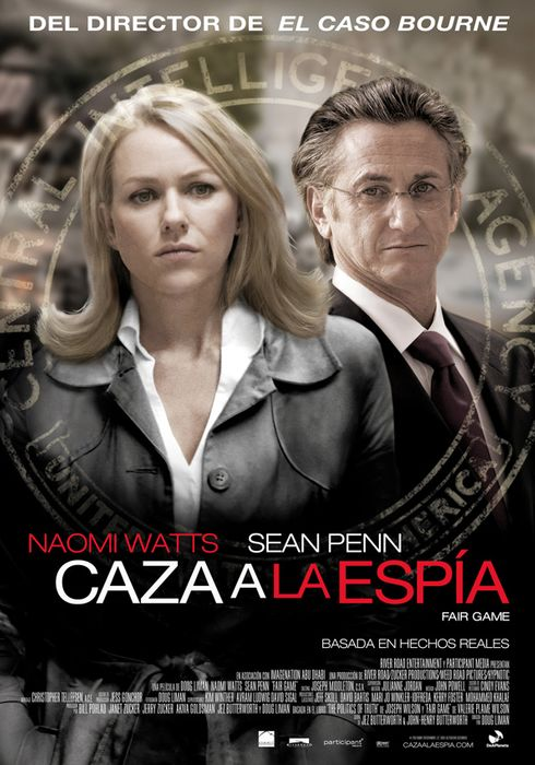 Cartel oficial en español de: Caza a la espía (Fair game)