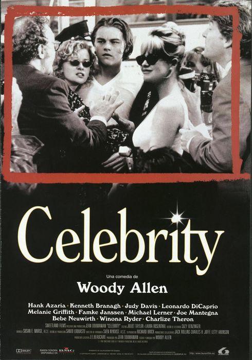 Cartel oficial en español de: Celebrity