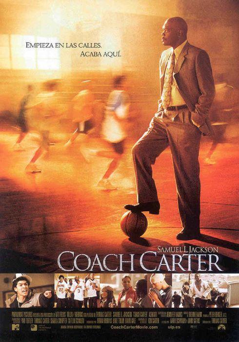 Cartel oficial en español de: Coach Carter