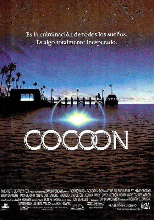 Cartel oficial en español de: Cocoon