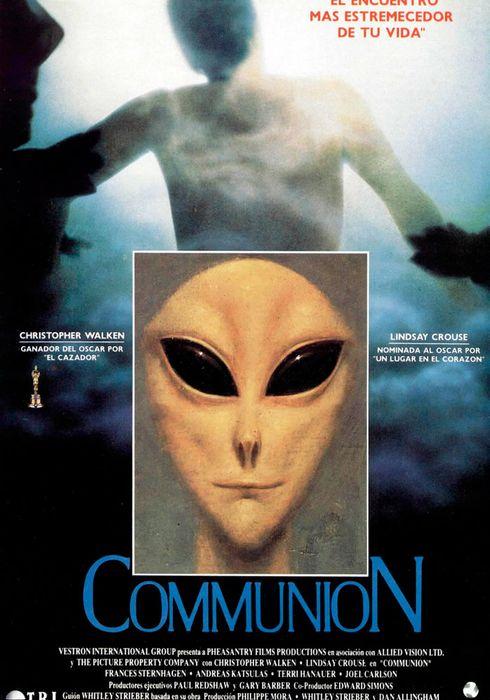 Cartel oficial en español de: Communion