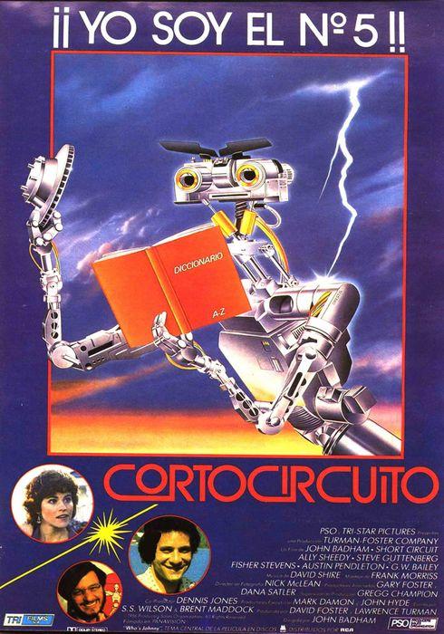 Cartel oficial en español de: Cortocircuito