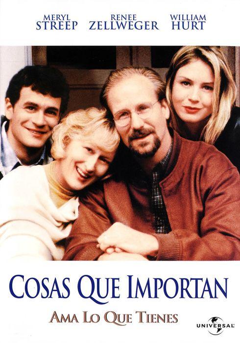 Cartel oficial en español de: Cosas que importan
