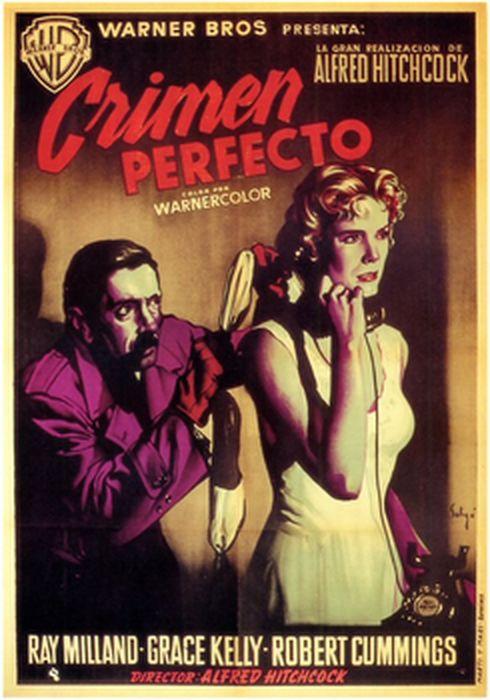 Cartel oficial en español de: Crimen perfecto