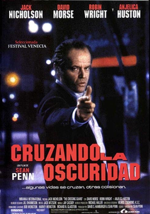 Cartel oficial en español de: Cruzando la oscuridad