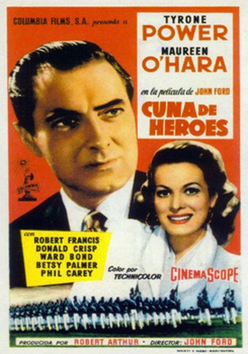Cartel oficial en español de: Cuna de héroes