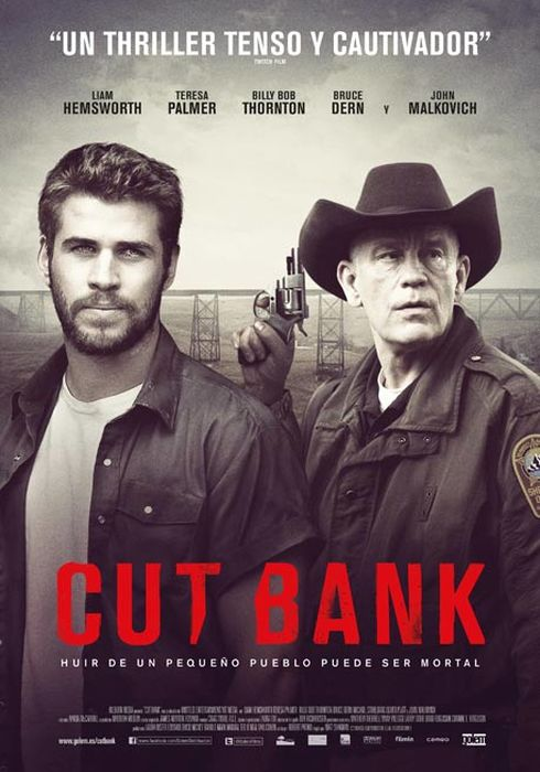 Cartel oficial en español de: Cut Bank
