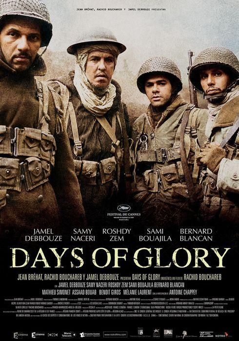 Cartel oficial en español de: Days of Glory (Indigènes)