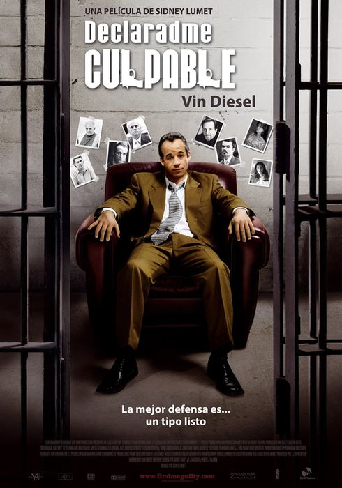 Cartel oficial en español de: Declaradme culpable