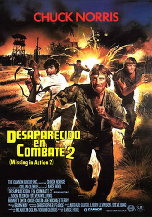 Cartel oficial en español de: Desaparecido en combate 2