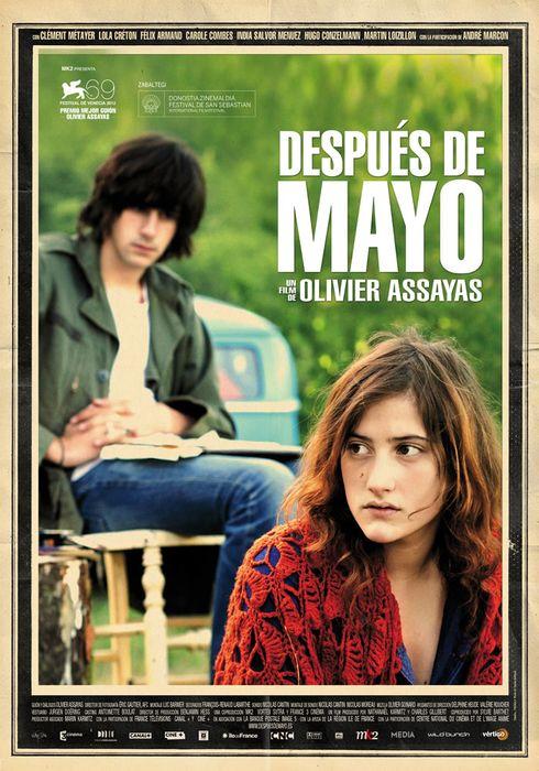 Cartel oficial en español de: Después de mayo