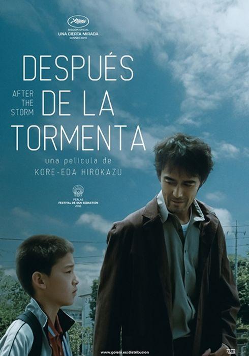 Cartel oficial en español de: Después de la tormenta (2016)
