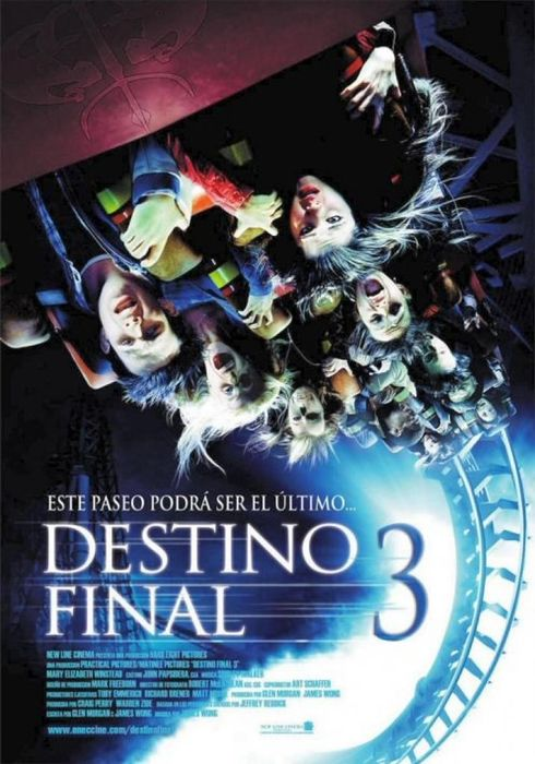 Cartel oficial en español de: Destino final 3