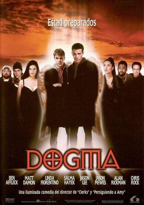 Cartel oficial en español de: Dogma