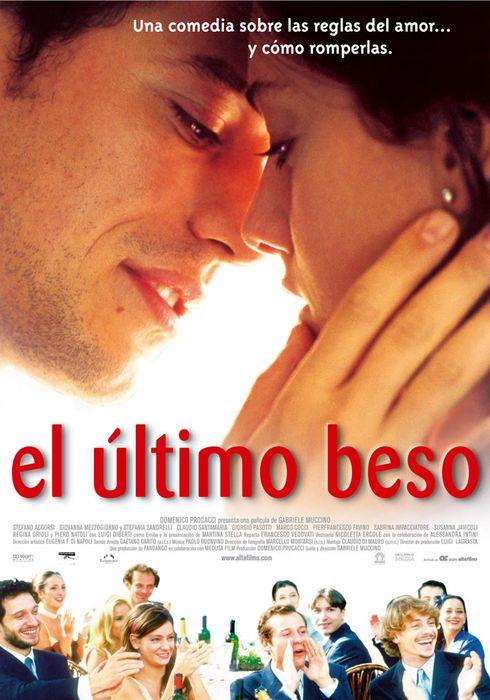 Cartel oficial en español de: El último beso
