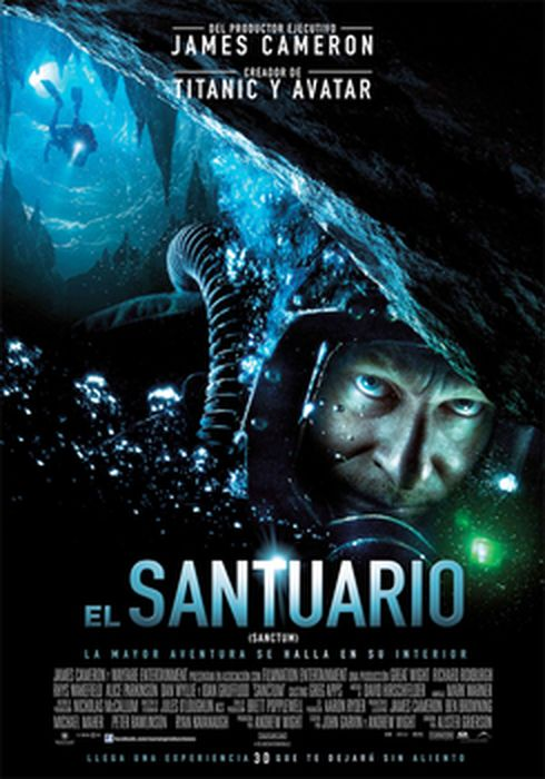 Cartel oficial en español de: El Santuario (Sanctum)