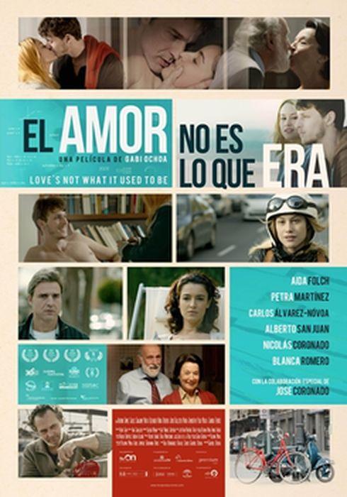 Cartel oficial en español de: El amor no es lo que era