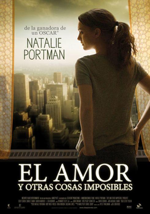 Cartel oficial en español de: El amor y otras cosas imposibles