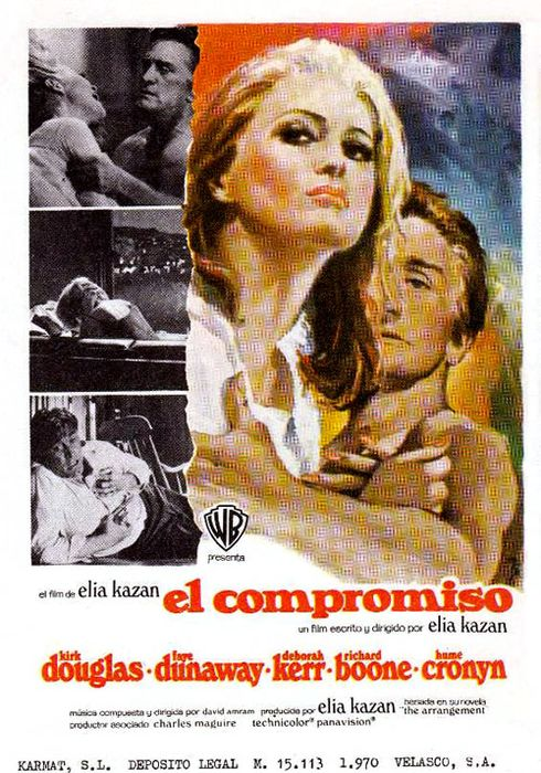 Cartel oficial en español de: El compromiso (1968)