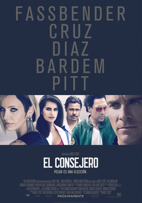 Cartel oficial en español de: El consejero