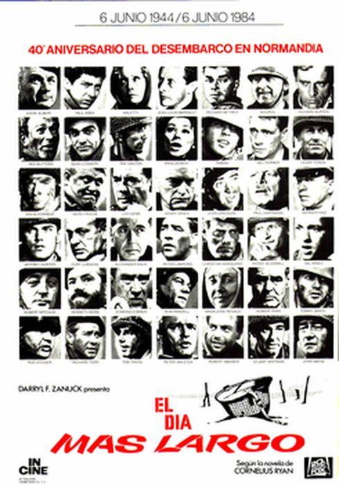 Cartel oficial en español de: El día más largo