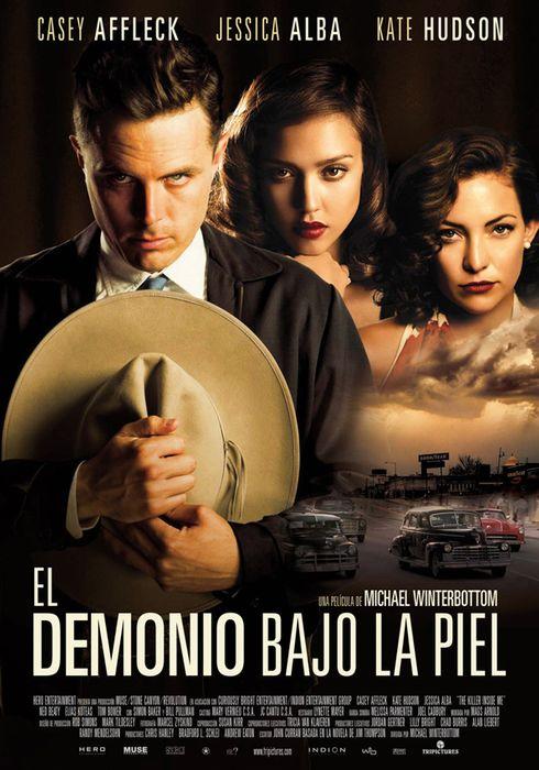 Cartel oficial en español de: El demonio bajo la piel