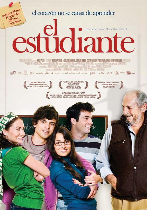 Cartel oficial en español de: El estudiante