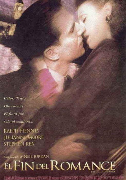 Cartel oficial en español de: El fin del romance