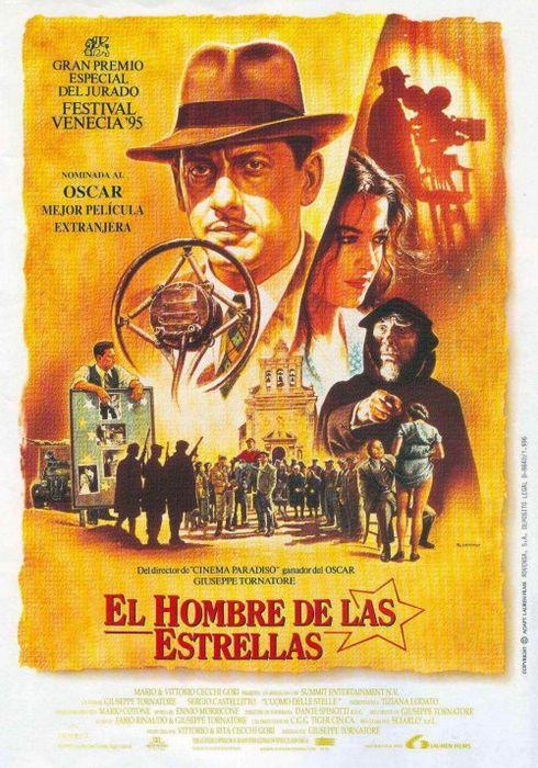 Cartel oficial en español de: El hombre de las estrellas