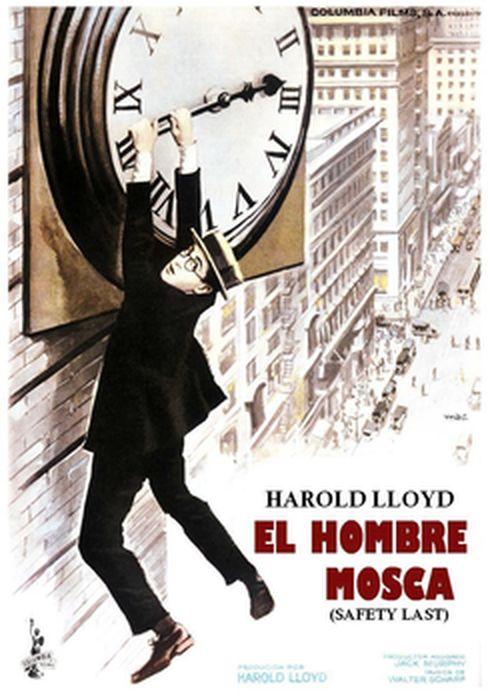 Cartel oficial en español de: El hombre mosca