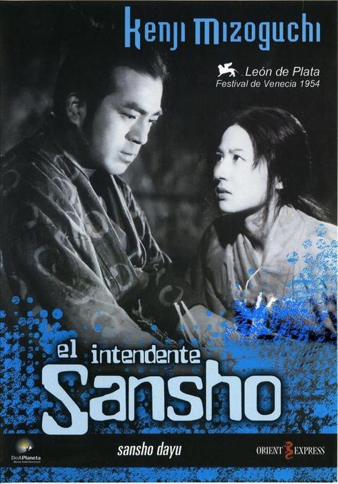 Cartel oficial en español de: El intendente Sansho