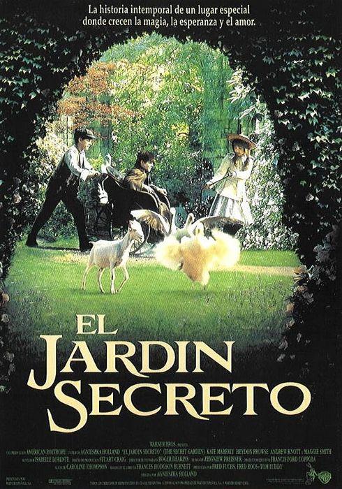Cartel oficial en español de: El jardín secreto (1993)