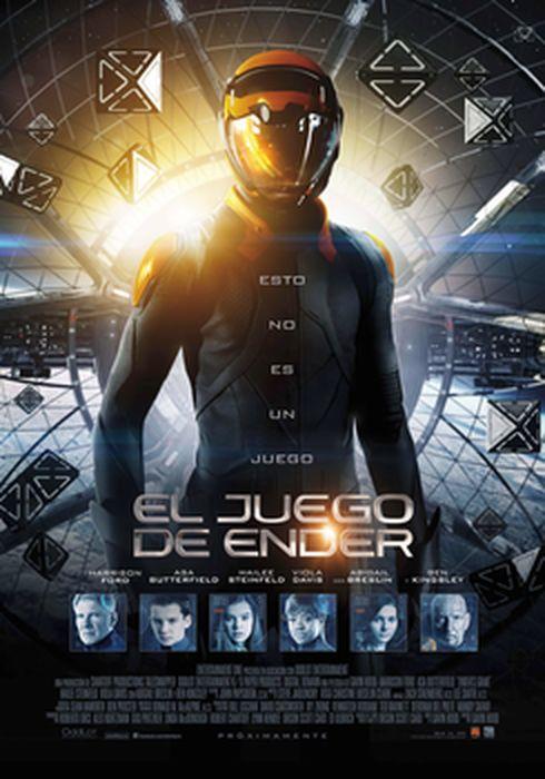Cartel oficial en español de: El juego de Ender