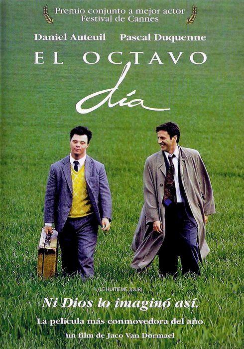 Cartel oficial en español de: El octavo día