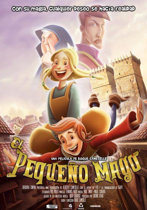 Cartel oficial en español de: El pequeño mago