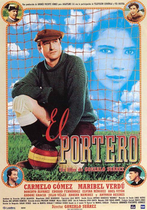 Cartel oficial en español de: El portero