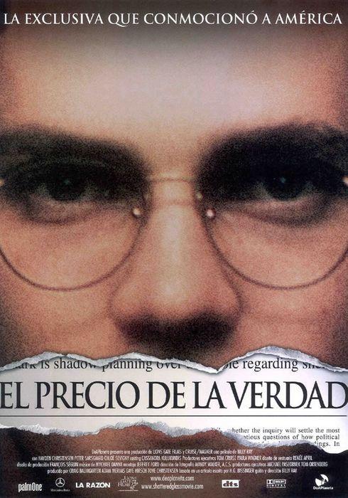 Cartel oficial en español de: El precio de la verdad