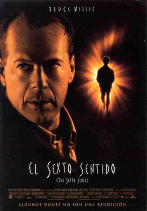 Cartel oficial en español de: El sexto sentido