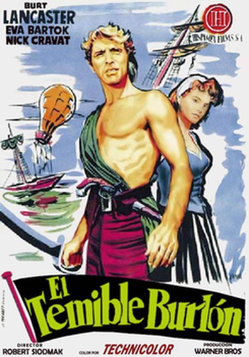 Cartel oficial en español de: El temible burlón